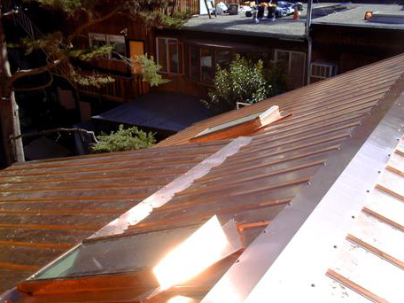 residential metal roofing california